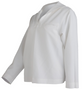 AS-IS NAVY Women's Dress White Jumper Top - No Piping