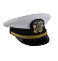 NAVY WO/LCDR Complete Combination Dress Cap