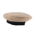 NAVY Khaki Poly/Wool Dress Cap Cover