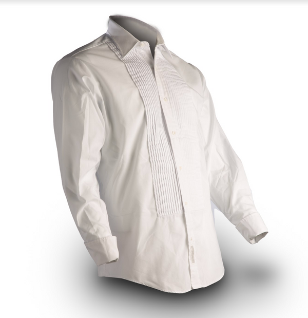 NAVY Men's White Formal Shirt