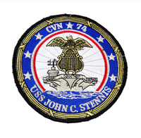 NAVY U.S.S. John C. Stennis CVN 74 Military Patch