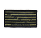 "NAVY NWU Type III Embroidered Large Green Shoulder Patch ""Don't Tread on Me"" on Velcro"