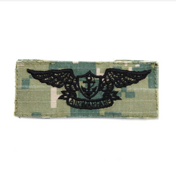 NAVY NWU Type III Green Badge Aviation Warfare