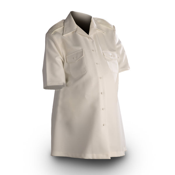 NAVY Maternity Officer/CPO Summer White Shirt