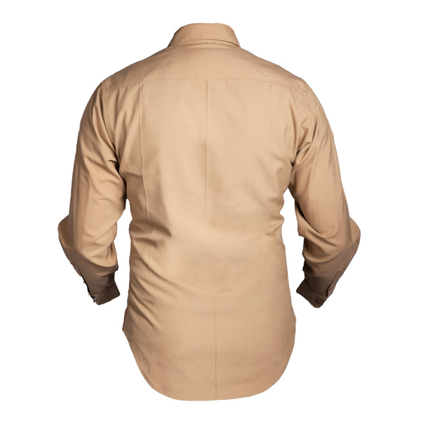 USMC Men's Khaki Long Sleeve Shirt