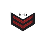 NAVY Men's E4-E6 (HM) Rating Badge: Hospital Corpsman - SDB
