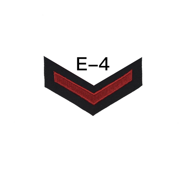 NAVY AS-IS Men's E4-E6 (HM) Rating Badge: Hospital Corpsman - SDB