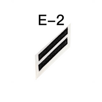 NAVY E2 & E3 (CS) Combination Rating Badge: Culinary Specialist - White