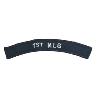 NAVY 1st MLG Boat Rocker Patch