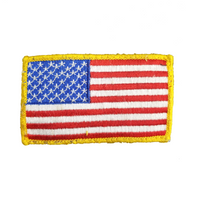 NAVY American Flag Military Patch