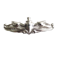NAVY Mirror Finish Badge Device - Surface Qualification Badge