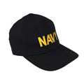 AS-IS NAVY Embroidered Baseball Cap