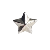Navy Ribbon Attachment - Silver Star 5/16""