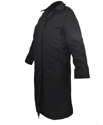 AS-IS NAVY Women's All Weather Coat - No Belt