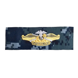 NAVY NWU Type I Fleet Marine Force Silver/Gold