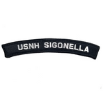 NAVY USNH Sigonella (IT) Boat Rocker Patch