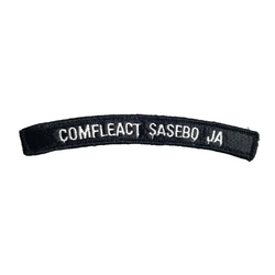 NAVY Comfleact Sasebo JA Boat Rocker Patch