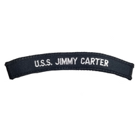 NAVY U.S.S. Jimmy Carter Boat Rocker Patch