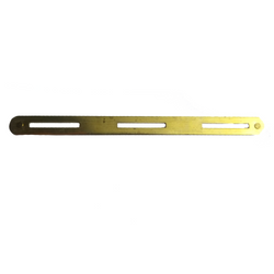 ARMED FORCES Brass Mounting Bar - 3 Ribbons