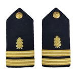 NAVY Women's O1-O6 Hard Shoulder Board: Dental Corps