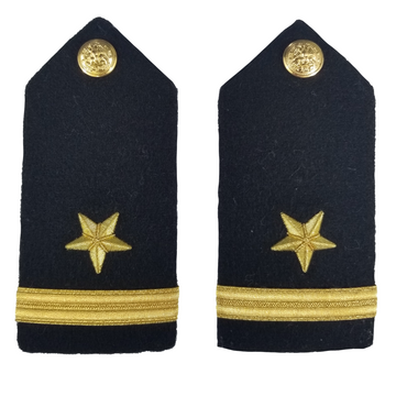 NAVY Women's O1-O6 Hard Shoulder Board: Line Officer
