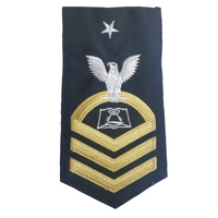 NAVY Men's (E8) Senior Chief Petty Officer Rating Badge - Culinary Specialist