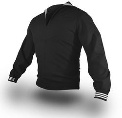 NAVY Men's Service Dress Blue Jumper Top (With Zipper)