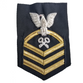 NAVY Men's (E7) Chief Petty Officer Bullion Rating Badge - Logistic specialist