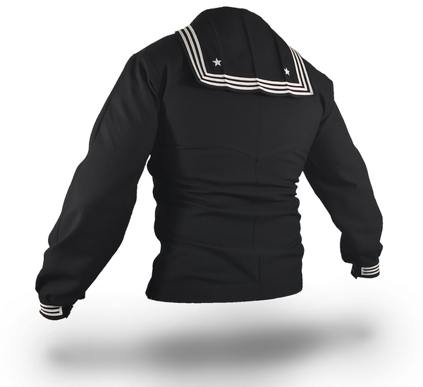 NAVY Men's SDB Jumper Top - Zipper