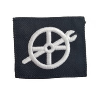 NAVY Striker Mark Rating Badge: Fireman - Blue