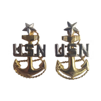 NAVY Collar Device - E8 Senior Chief Petty Officer