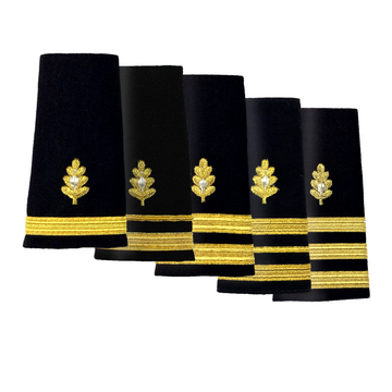NAVY O1-O6 Soft Shoulder Board: Medical Corps