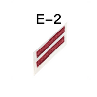NAVY E2 & E3 (EM) Combination Rating Badge: Electricians Mate - White