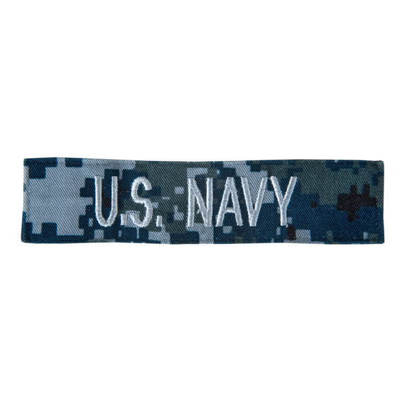 "NAVY ""U.S. Navy"" NWU Type 1 Tape - Silver / Gold"