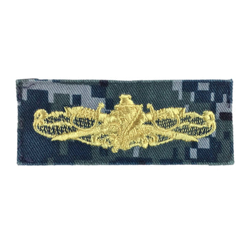 NAVY NWU Type I Surface Warfare Supply Officer - Gold