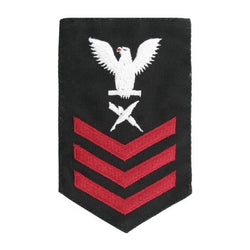 NAVY Women's E4-E6 (CT) Rating Badge: Cryptologic Technician - SDB