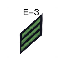 NAVY E2 & E3 (AB) Combination Rating Badge: Aviation Boatswain's Mate- SDB