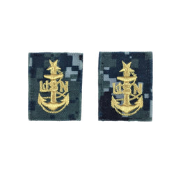 NAVY NWU Type I Collar Device - E8 Senior Chief