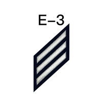 NAVY E2 & E3 (PS) Combination Rating Badge: Personnel Specialist - SDB