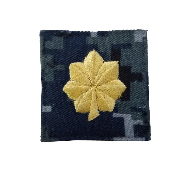 Navy NWU Type I Cap Device - LCDR Gold