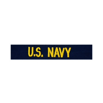 "NAVY Coveralls ""U.S. NAVY"" Tape - Gold"