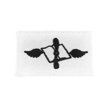 NAVY (AZ) Striker Mark Rating Badge: Aviations Maintenance Administrationman - White