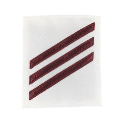 NAVY E2 & E3 Rating Badge: Fireman - White