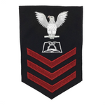 NAVY Men's E4-E6 (CS) Rating Badge: Culinary Specialist - SDB