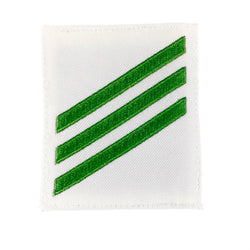 NAVY E2 & E3 Rating Badge: Airman - White