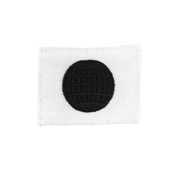 NAVY (EM) Striker Mark Rating Badge: Electricians Mate - White
