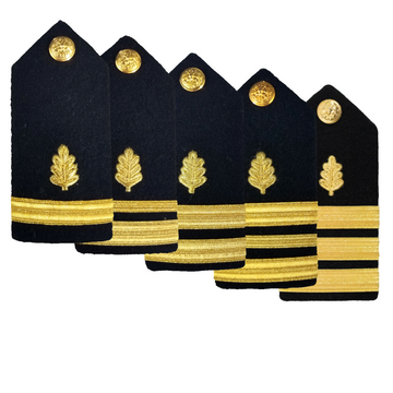 NAVY Women's O1-O6 Hard Shoulder Board: Nurse Corp