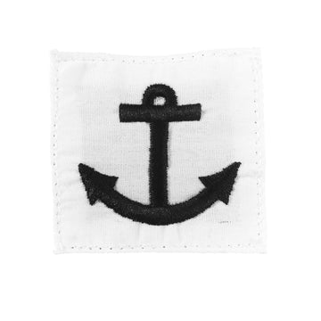 NAVY Striker Mark Rating Badge: Seaman - White