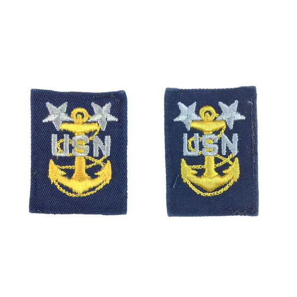 NAVY Coveralls E9 Master Chief Petty Officer Collar Device