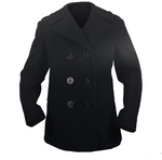 AS-IS NAVY Women's Enlisted Peacoat